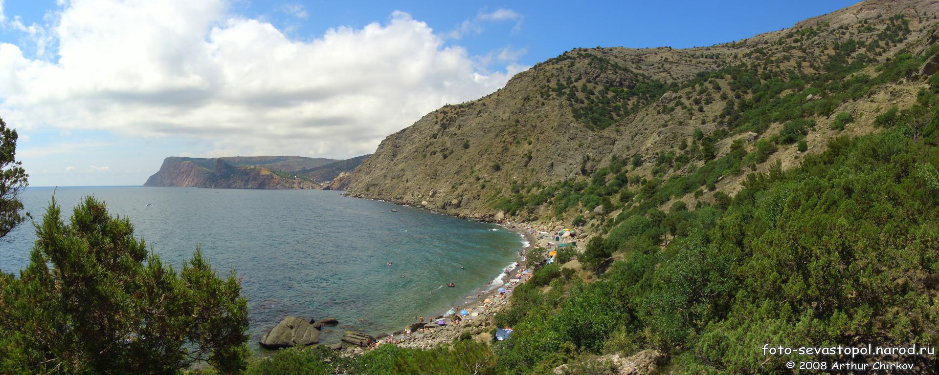 Фото золотого пляжа балаклавы