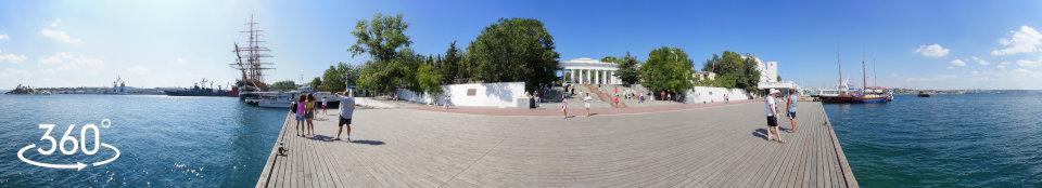 Панорама 360 гр. Графская пристань