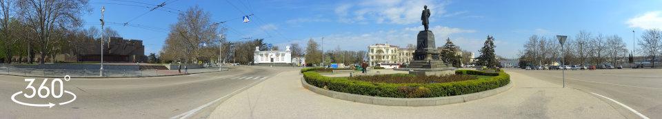 Севастополь. площадь Нахимова